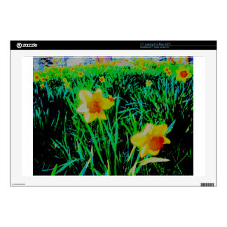 Daffodils Laptop Skins