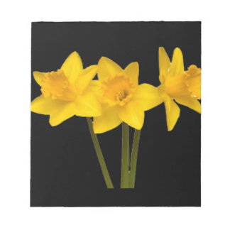 """Daffodils"" Note Pad"