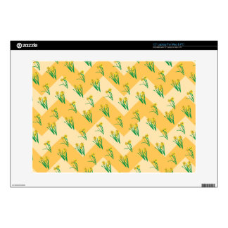 """Daffodils Pattern Skin For 15"""" Laptop"""