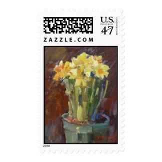 """Daffodils"" Postage"
