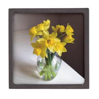Daffodils Premium Jewelry Boxes