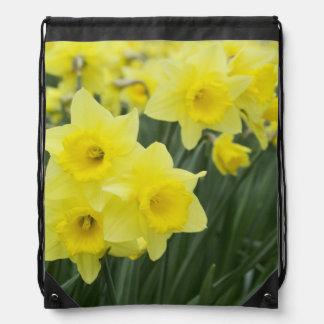 Daffodils RF) Drawstring Bag
