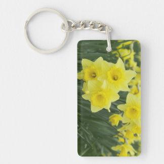 Daffodils RF) Keychain