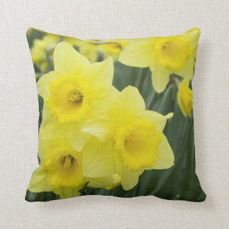 Daffodils RF) Throw Pillow