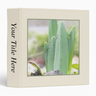 Daffodils Signal The Coming Of Spring 3 Ring Binder