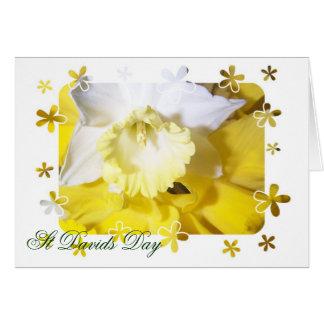 Daffodils St Davids Day Card