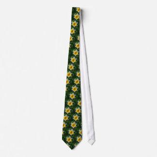 Daffodils Symbolize Renewal Tie. Tie