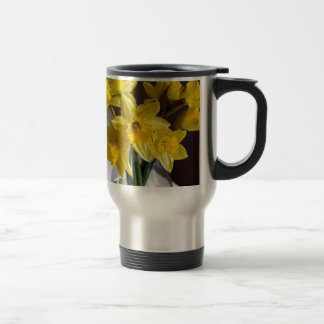 Daffodils Travel Mug