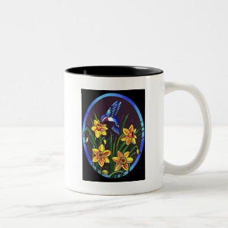 DAFFODILS Two-Tone COFFEE MUG