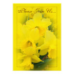 Daffodils Wedding II Personalized Invitation