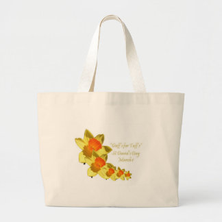 Daffs For Taffs On Transparent Backgound Tote Bags
