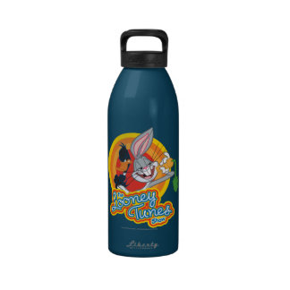 Daffy and Bugs Looney Tunes Show Icon Reusable Water Bottles