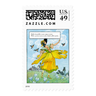 Daffy-Down-Dilly Postage