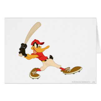 Daffy Duck Batter's Up Card