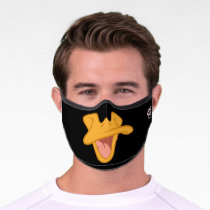 DAFFY DUCK™ Big Mouth Premium Face Mask