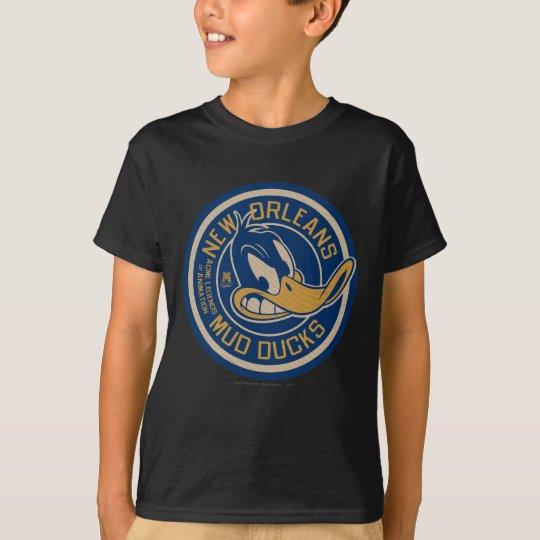 DAFFY DUCK™ Mud Ducks Round Logo T-Shirt