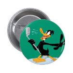 Daffy Duck Singing Pins