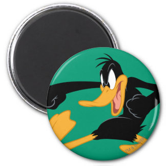 DAFFY DUCK™ Swinging a Punch Magnet