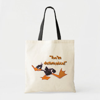 Daffy listo para luchar bolsa