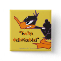 Daffy Ready to Fight Button