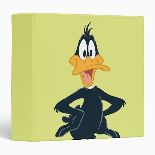 Daffy the Duck Vinyl Binder