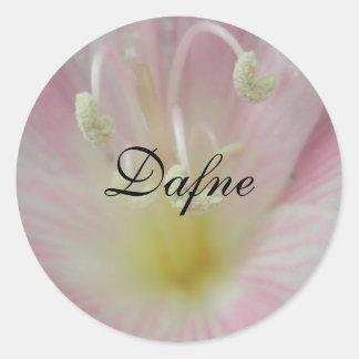 Dafne Classic Round Sticker
