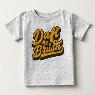 Daft As A Brush Yorkshire English Slang TShirt