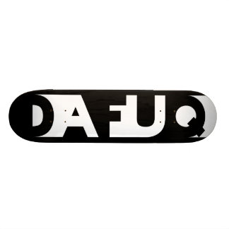 Dafuq Shadow Blocks Skateboard. Skateboard