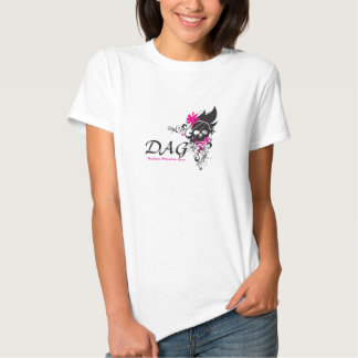 DAG scroll skull T-shirt