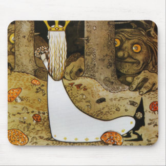 Daga in the Woods Mouse Pad