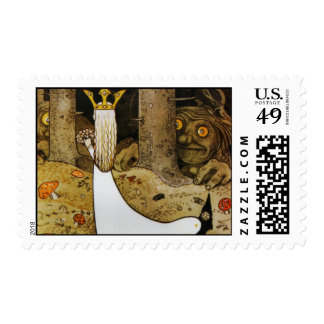 Daga in the Woods Postage