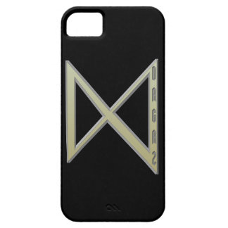 Dagaz Rune gold iPhone SE/5/5s Case