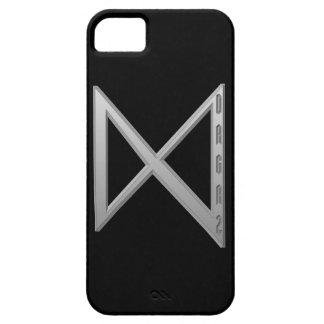 Dagaz Rune grey iPhone SE/5/5s Case