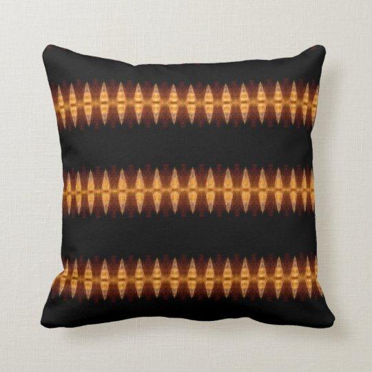 Dagger Blanket Patterned Back Throw Pillow