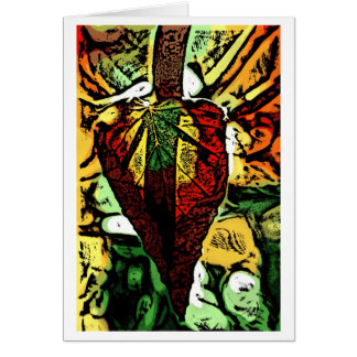 dagger is my heart greeting cards