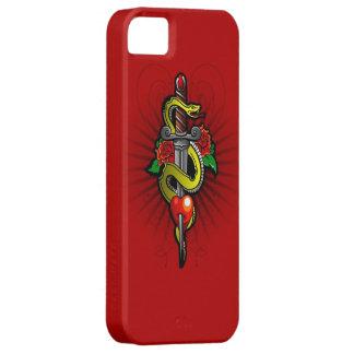 Dagger Through My Heart iPhone 5 Case