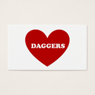 Daggers Business Card