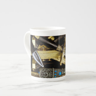 Daggers, Dirks and Sabres Tea Cup