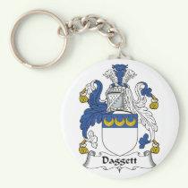 Daggett Family Crest Keychain