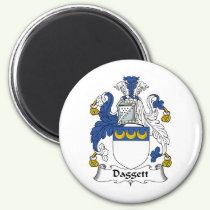 Daggett Family Crest Magnet