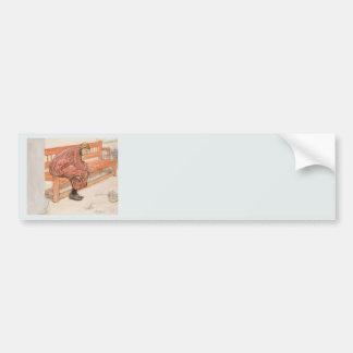 Dagmar and the Paper Crown Bumper Sticker