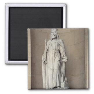Dagobert (605-39) King of the Franks, 1836 (marble Magnet