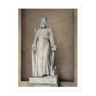 Dagobert (605-39) King of the Franks, 1836 (marble Postcard