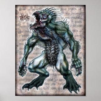 Dagon 8.5x11 poster