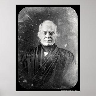 Daguerreotype 1844 de la historia de la justicia posters