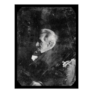 Daguerreotype 1844 de presidente Andrew Jackson Impresiones
