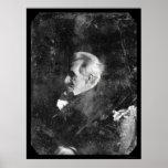 Daguerreotype 1844 de presidente Andrew Jackson Póster
