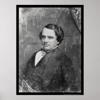 Daguerreotype 1844 de Stephen Arnold Douglas Póster