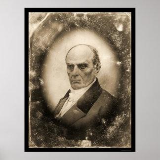 Daguerreotype 1845 de Daniel Webster Póster