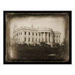Daguerreotype 1846 de DC de la Casa Blanca Poster